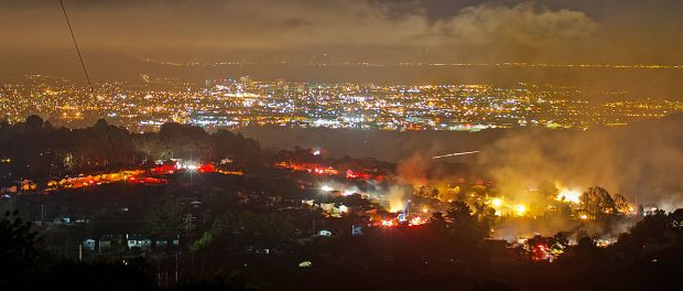 San Bruno fire Sept. 9, 2010. (Wikimedia Commons)