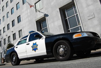 An SFPD squad car. (Todd Lappin/Flickr)