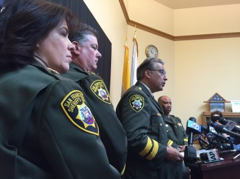San Francisco Sheriff Ross Mirkarimi said on April 10 that the FBI is investigating allegations that deputies forced inmates to fight and bet on the outcomes. (Alex Emslie/KQED)
