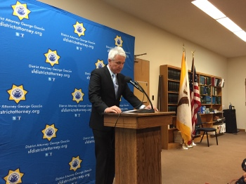 San Francisco District Attorney George Gascón says his office will conduct independent investigations into multiple scandals involving San Francisco law enforcement agencies. (Alex Emslie/KQED)