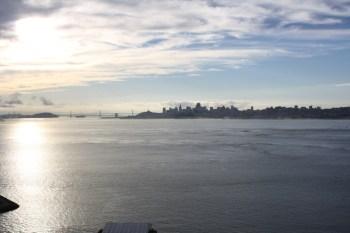 The San Francisco skyline September 2013. (Alex Emslie/KQED)