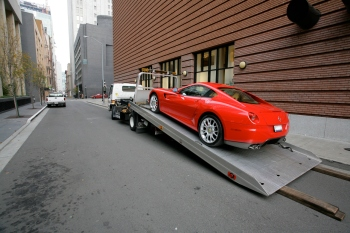 Victims of car theft could get some relief from San Francisco towing fees under a new proposal before the city's Board of Supervisors. (Robert S. Donovan/Flickr)