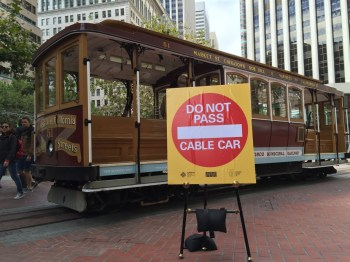 San Francisco officials are launching an effort to protect cable car operators after two of them were severely injured this year. (Alex Emslie/KQED)