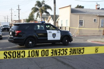 California consistently ranks first among U.S. states in the number of civilians killed by law enforcement. (Alex Emslie/KQED)