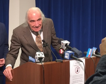 "Raymond ""Shrimp Boy"" Chow's attorney Tony Serra. (Alex Emslie/KQED)"